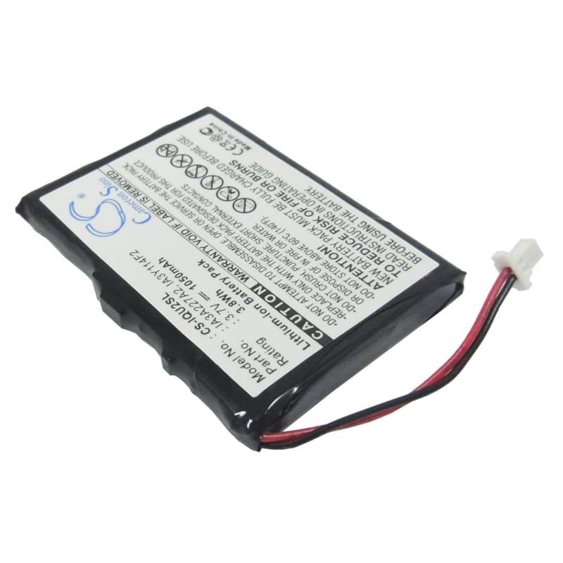 Premium Battery for Garmin Quest 2 3.7V, 1050mAh - 3.89Wh