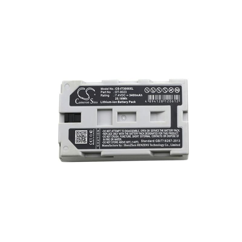 Premium Battery for Casio, It2000, It-2000d30e, It-2000d33e, It3000 7.4V, 3400mAh - 25.16Wh