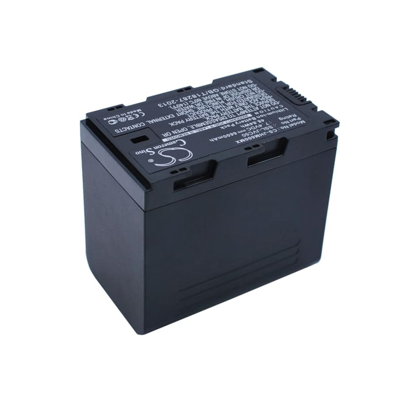 Premium Battery for Jvc Gy-hm200, Gy-hm600, Gy-hm600e, Gy-hm600ec, 7.4V, 6600mAh - 48.84Wh