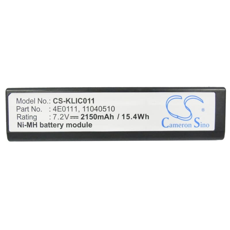 Premium Battery for Kodak Dcs-520, Dcs-560, Dcs-620, Dcs-620x, 7.2V, 2150mAh - 15.48Wh