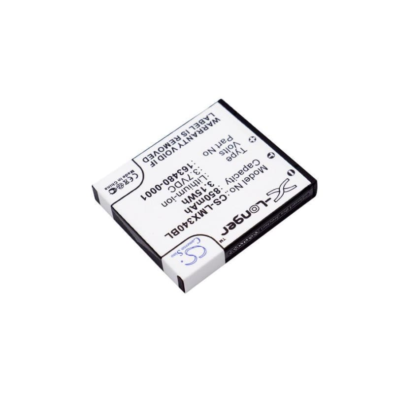 New Premium BarCode/Scanner Battery Replacements CS-LMX340BL