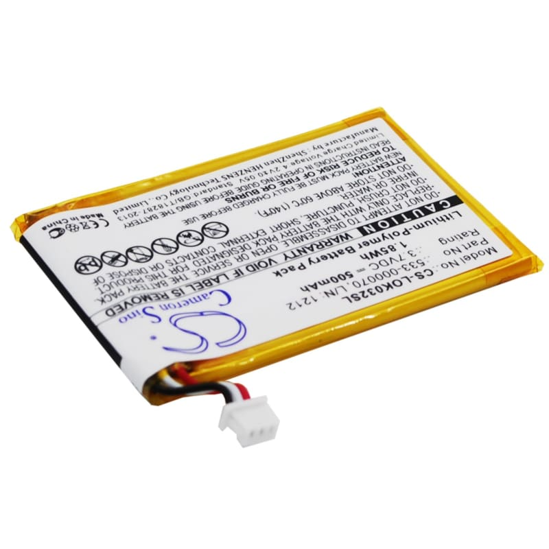 Premium Battery for Logitech Ultratin Keyboard Cover, Y-r0032 3.7V, 500mAh - 1.85Wh