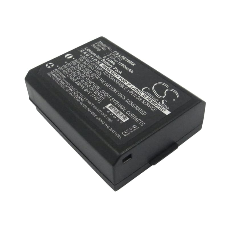 Premium Battery for Canon Eos 1100d, Eos 1200d, 7.4V, 1100mAh - 8.14Wh