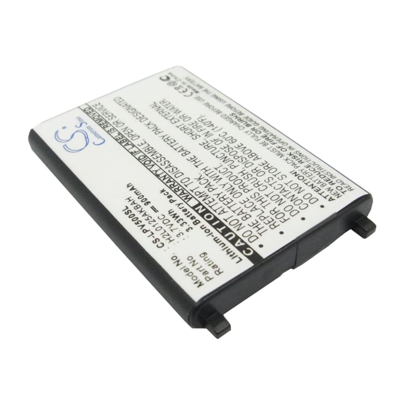 Premium Battery for Lawmate Pv-500 Dvr Recorder 3.7V, 900mAh - 3.33Wh