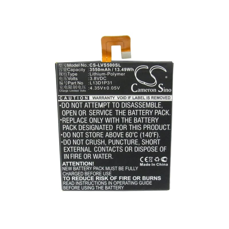 New Premium Tablet Battery Replacements CS-LVS500SL
