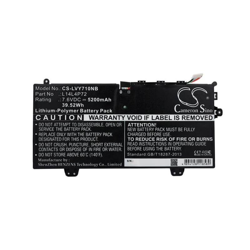 New Premium Notebook/Laptop Battery Replacements CS-LVY710NB