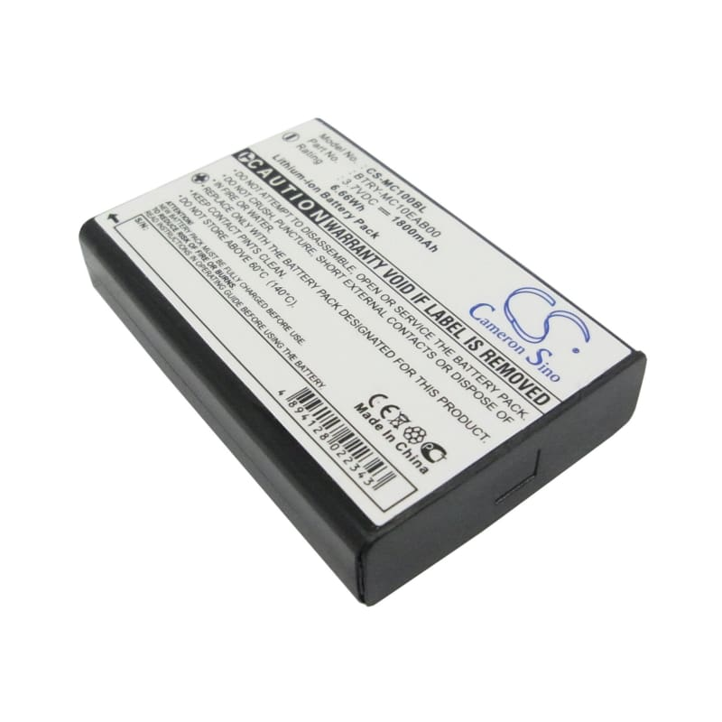 New Premium BarCode/Scanner Battery Replacements CS-MC100BL