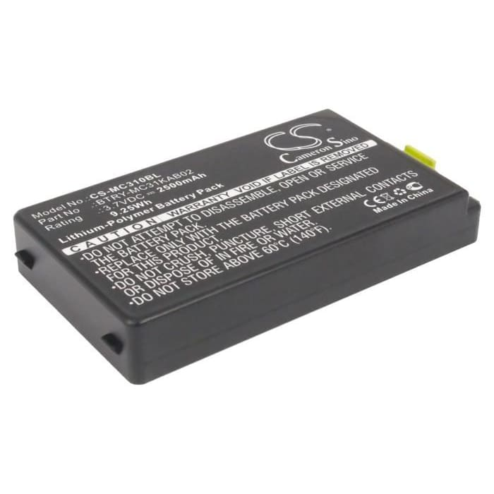 Premium Battery for Symbol Mc3100, Mc3190, Mc3190g 3.7V, 2500mAh - 9.25Wh