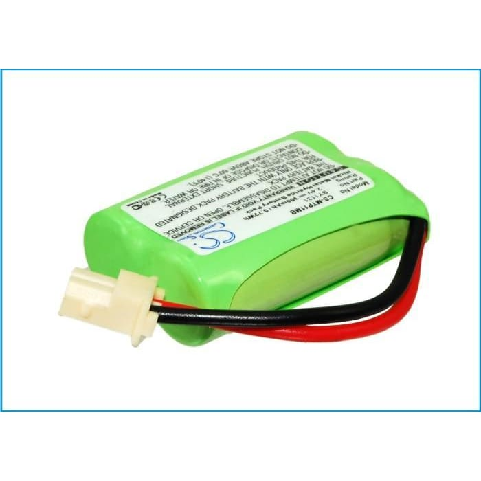 Premium Battery for Motorola, MBP16/2PU, Mbp11 2.4V, 300mAh - 0.72Wh