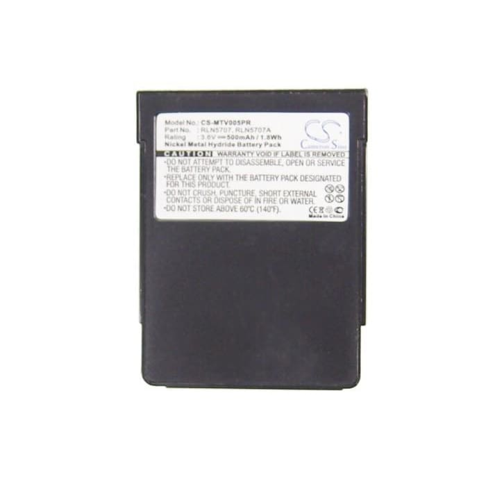 New Premium Pager Battery Replacements CS-MTV005PR