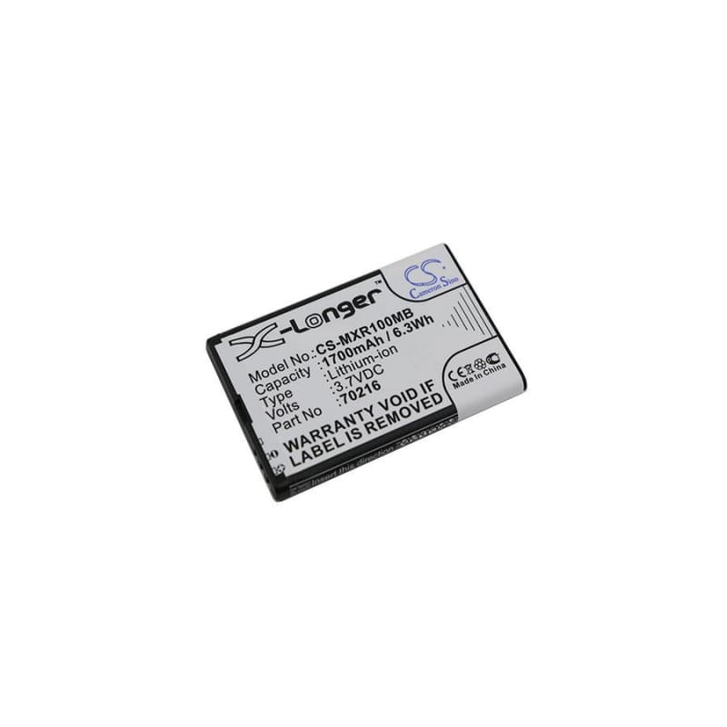 Premium Battery for Mobi, Dxr, Dxr Touch, Snow 3.7V, 1700mAh - 6.29Wh