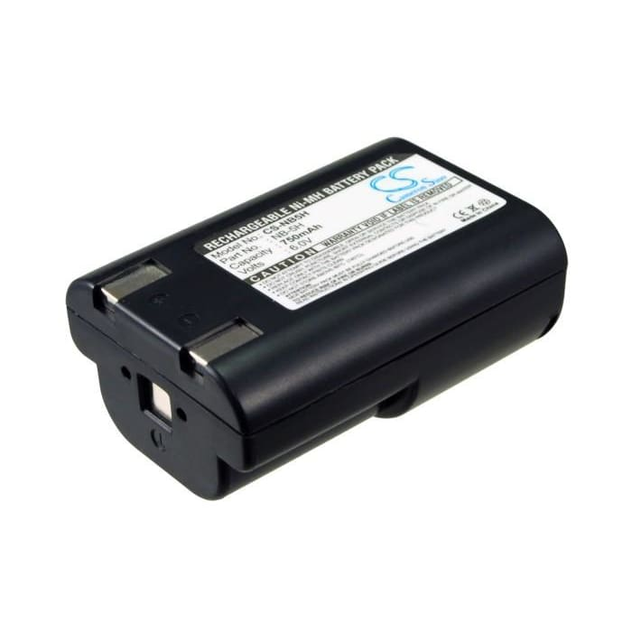 Premium Battery for Canon Powershot 600, Powershot A5 6V, 750mAh - 4.50Wh