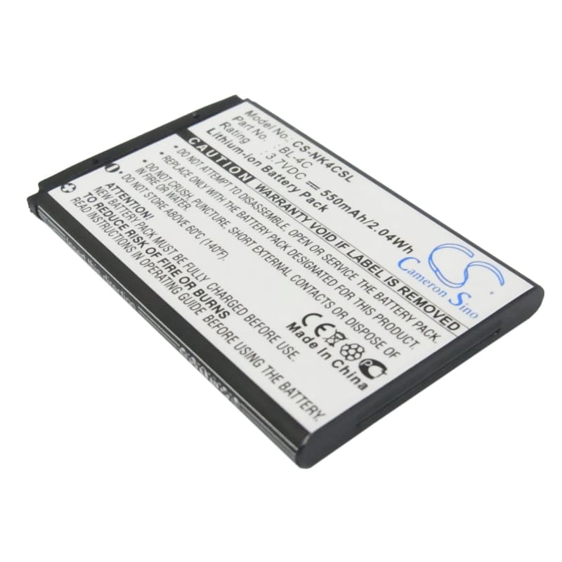 Premium Battery for Blu Deejay Lite, Click Lite, Flash 3.7V, 550mAh - 2.04Wh