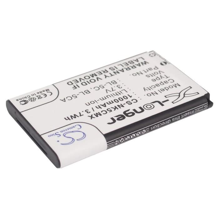Premium Battery for Banno Gt03b 3.7V, 1000mAh - 3.70Wh