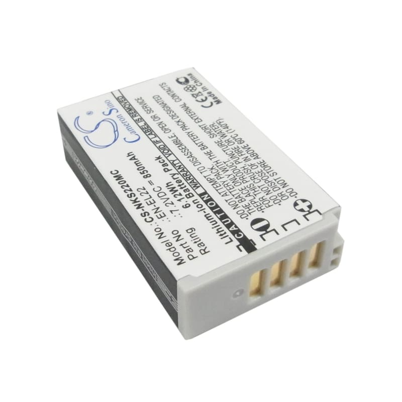 Premium Battery for Nikon 1 J4, 1 S2 7.2V, 850mAh - 6.12Wh