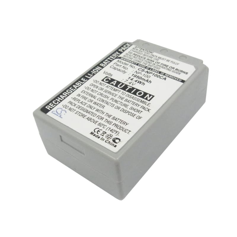 Premium Battery for Casio Exilim Pro Ex-f1, Exilim 7.4V, 1950mAh - 14.43Wh