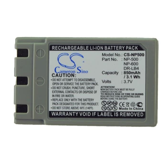 Premium Battery for Konica Revio Kd-310, Revio Kd-310z, 3.7V, 850mAh - 3.15Wh