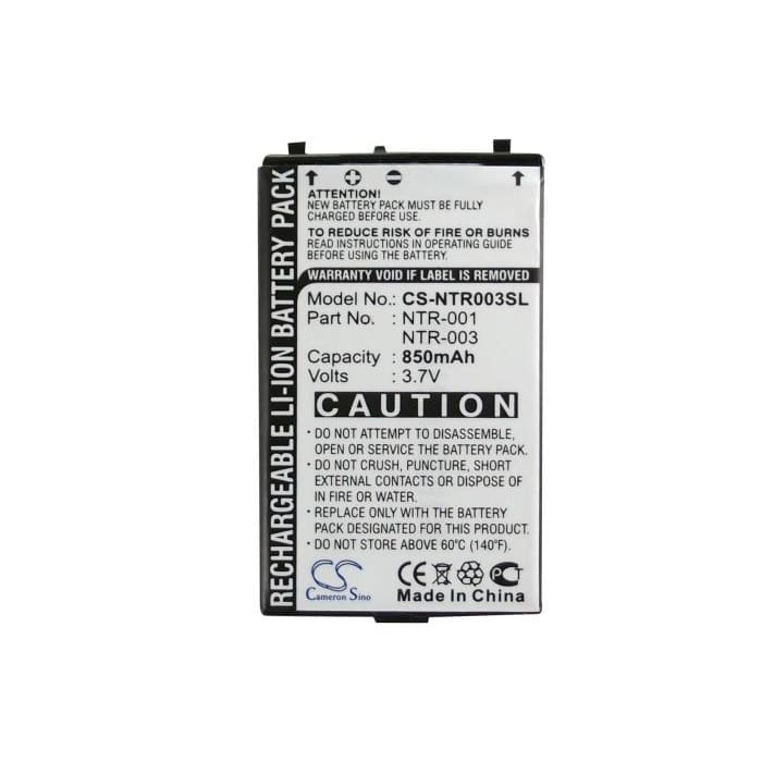 Premium Battery for Nintendo Nds 3.7V, 850mAh - 3.15Wh
