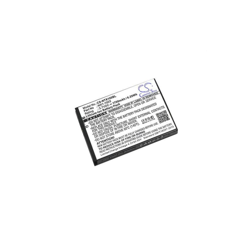 New Premium BarCode/Scanner Battery Replacements CS-NTX100BL