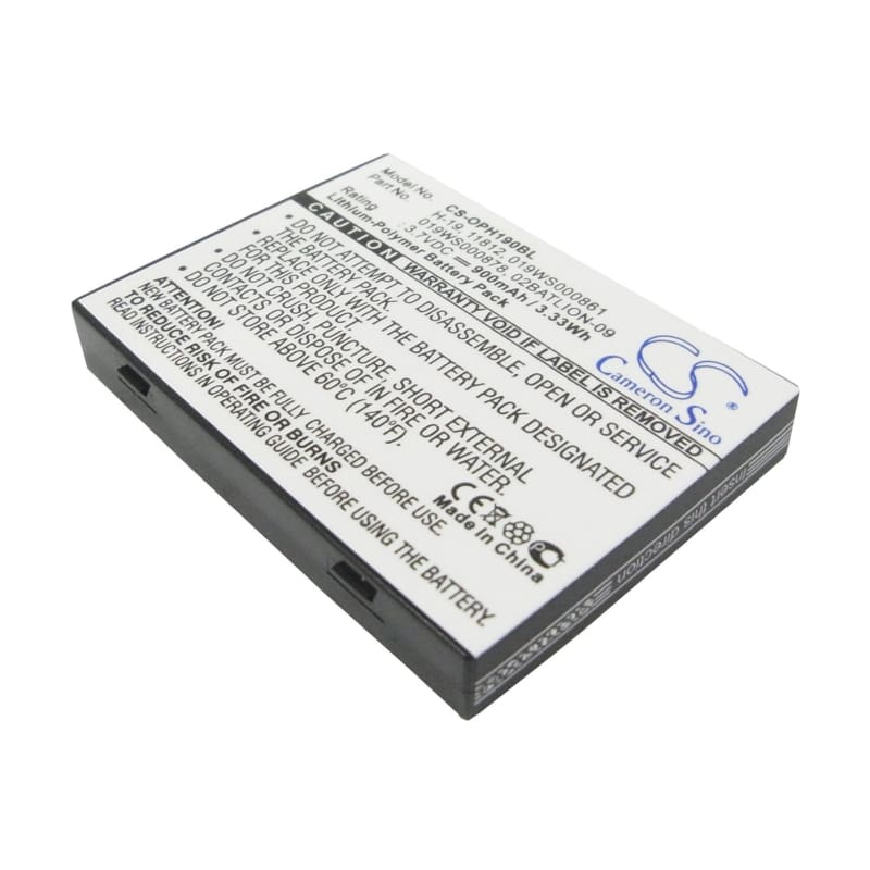 Premium Battery for Opticon H-19, H-19a, H-19d 3.7V, 900mAh - 3.33Wh