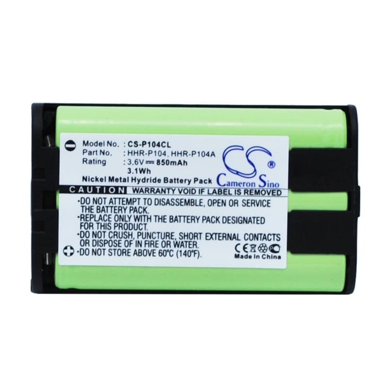 New Premium Cordless Phone Battery Replacements CS-P104CL