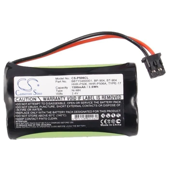 New Premium Cordless Phone Battery Replacements CS-P506CL