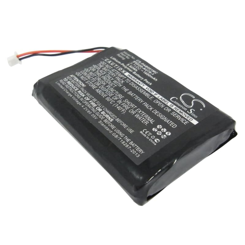 Premium Battery for Panasonic Arbitator Body Worn Mics 3.7V, 1600mAh - 5.92Wh