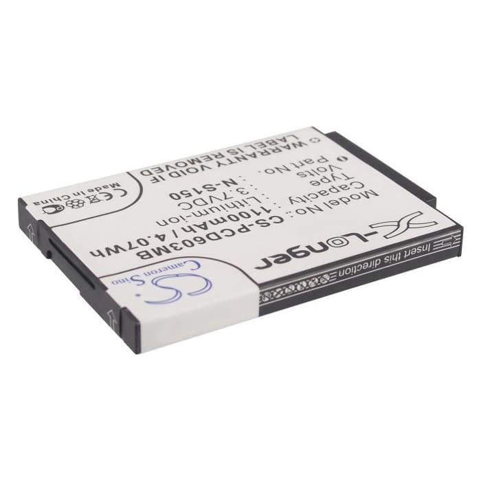 Premium Battery for Philips, Scd603, Scd-603/00, Scd-603h 3.7V, 1100mAh - 4.07Wh