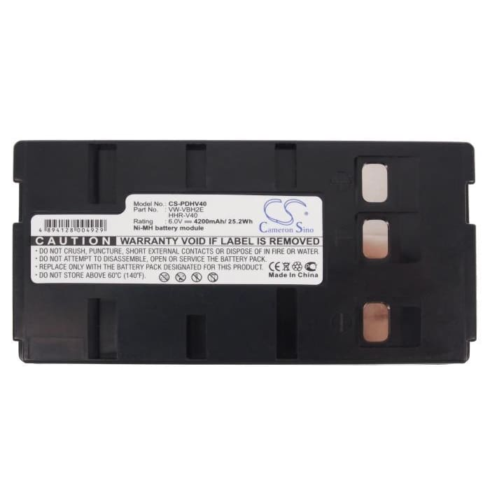 New Premium Camera Battery Replacements CS-PDHV40