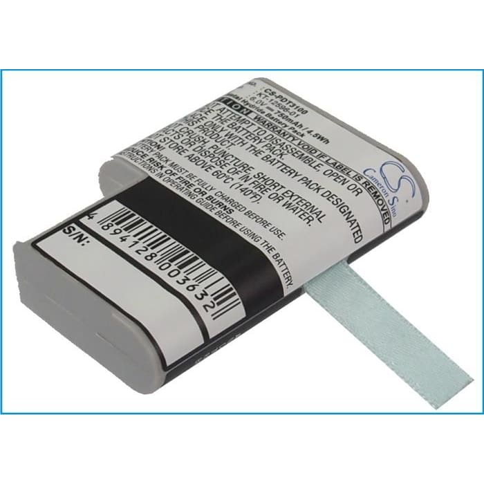 Premium Battery for Symbol Pdt 3100, Pdt 3110, Pdt 3120 6.0V, 750mAh - 4.50Wh