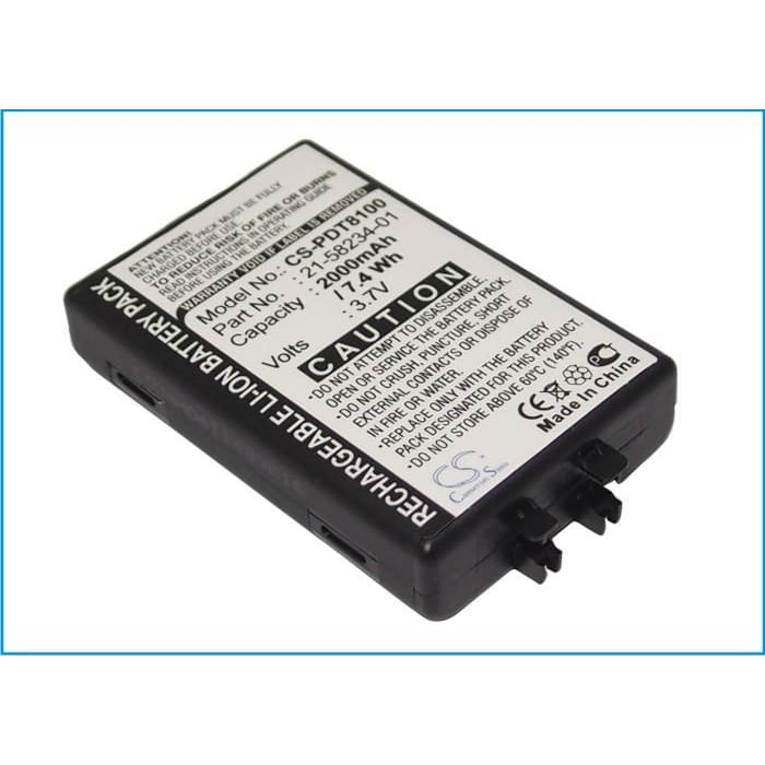 Premium Battery for Symbol Pdt8100, Pdt8133, Pdt8137 3.7V, 2000mAh - 7.40Wh