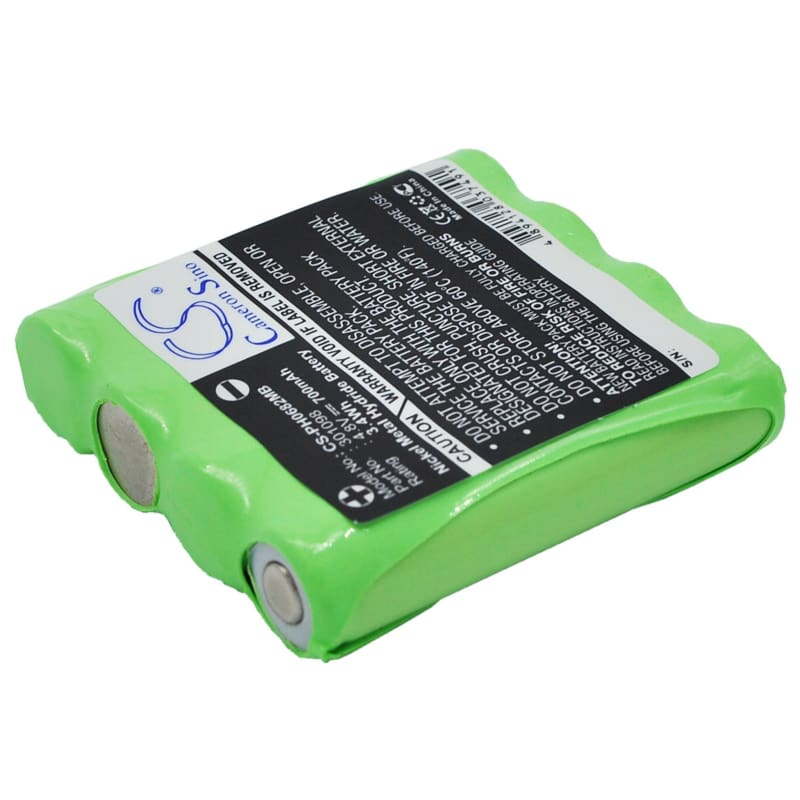 Premium Battery for Harting & Helling, Bug 2004 Baby Monitor 4.8V, 700mAh - 3.36Wh