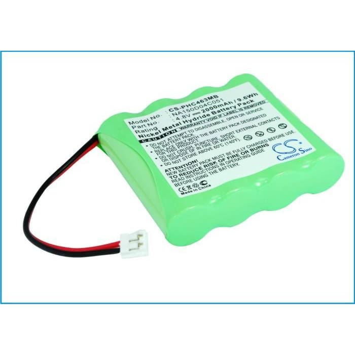 Premium Battery for Chicco, Nc3000 4.8V, 2000mAh - 9.60Wh