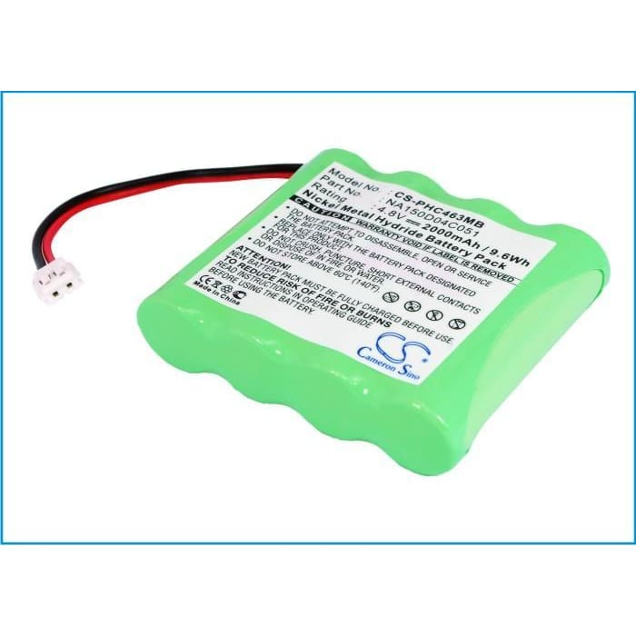 New Premium BabyPhone Battery Replacements CS-PHC463MB