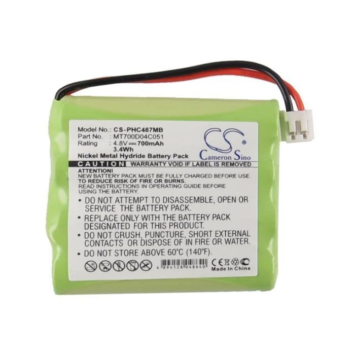 Premium Battery for Avent, Sdc361 4.8V, 700mAh - 3.36Wh