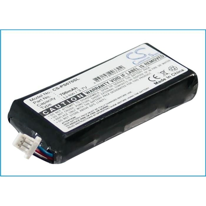 Premium Battery for Philips Gogear Hdd1630 6gb, Hdd1630/17 6gb 3.7V, 700mAh - 2.59Wh