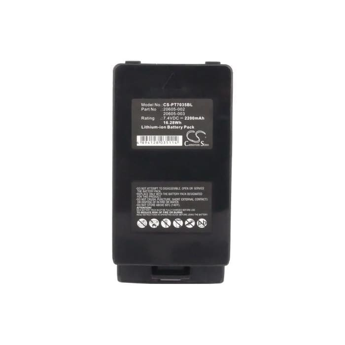 New Premium BarCode/Scanner Battery Replacements CS-PT7035BL