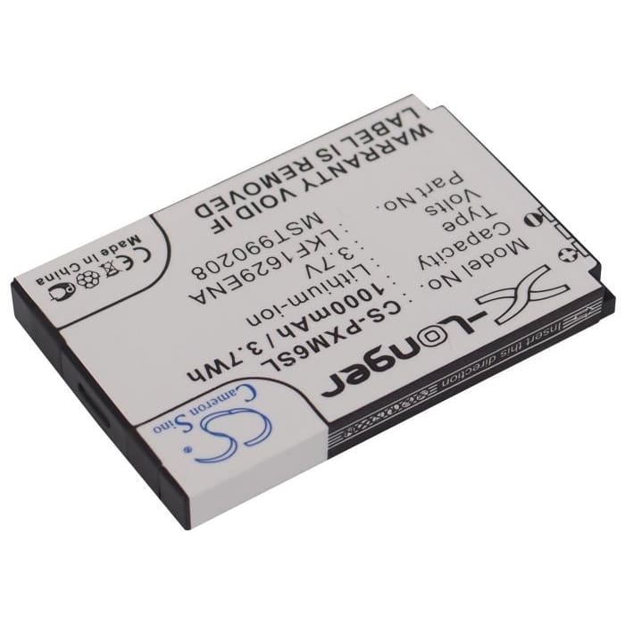 Premium Battery for Samsung Nexus 50, Nexus 50 Yp-x5zx, Nexus 25 3.7V, 1000mAh - 3.70Wh