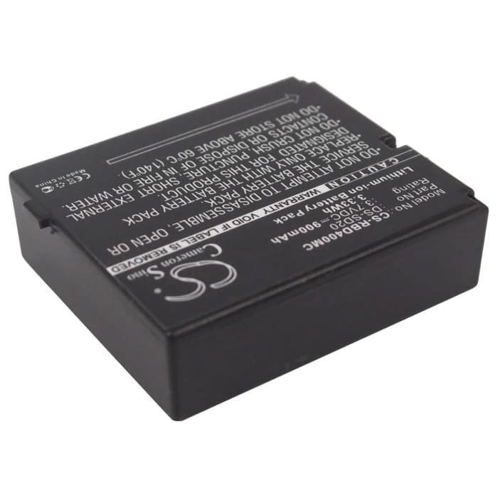 Premium Battery for Aee Sd18, Sd19, Sd20, Sd21, 3.7V, 900mAh - 3.33Wh