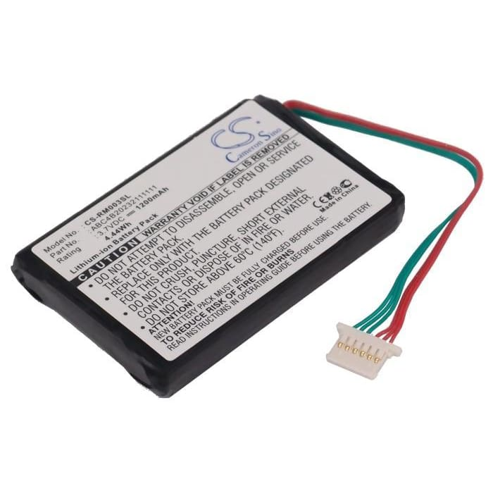 Premium Battery for Roc Digital 14003 Rocbox 20gb 3.7V, 1200mAh - 4.44Wh
