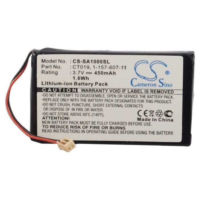 Premium Battery for Sony Nw-a1000, Nw-a1200s, Nw-a1200v 3.7V, 450mAh - 1.67Wh