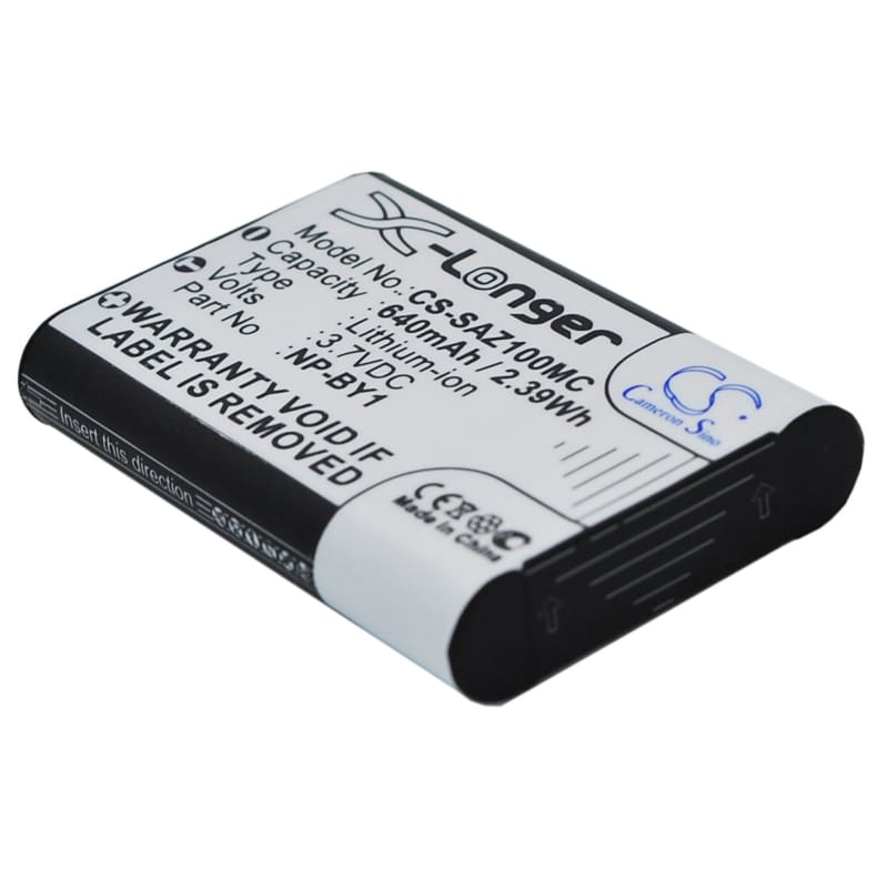 Premium Battery for Sony Action Cam Mini Az1, 3.7V, 640mAh - 2.37Wh