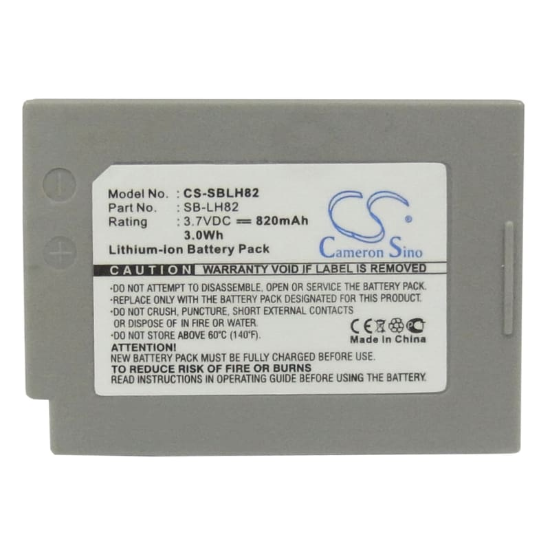 Premium Battery for Samsung Sdc-ms21b, Sdc-ms21s, Vp-ms10, Vp-ms10bl, 3.7V, 820mAh - 3.03Wh