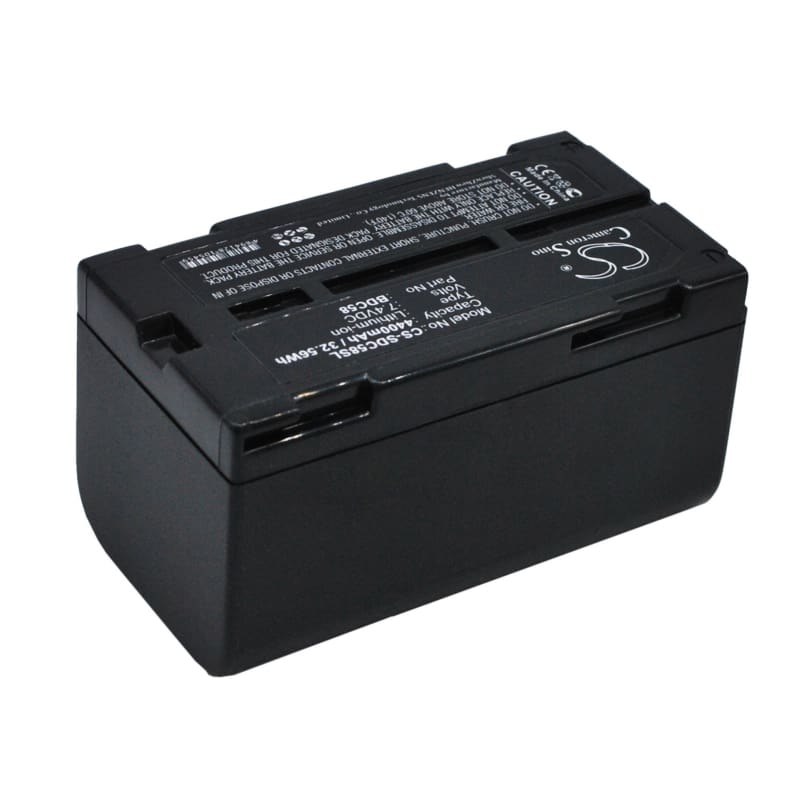 Premium BDC58 Battery for Sokkia Srx Robotic Total Stations, Setx Total Stations, And Grx1 Gps Receivers 7.4V, 4400mAh - 32.56Wh