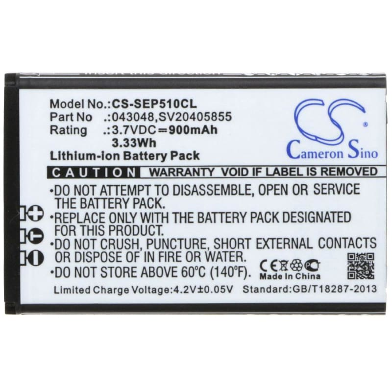 New Premium Cordless Phone Battery Replacements CS-SEP510CL