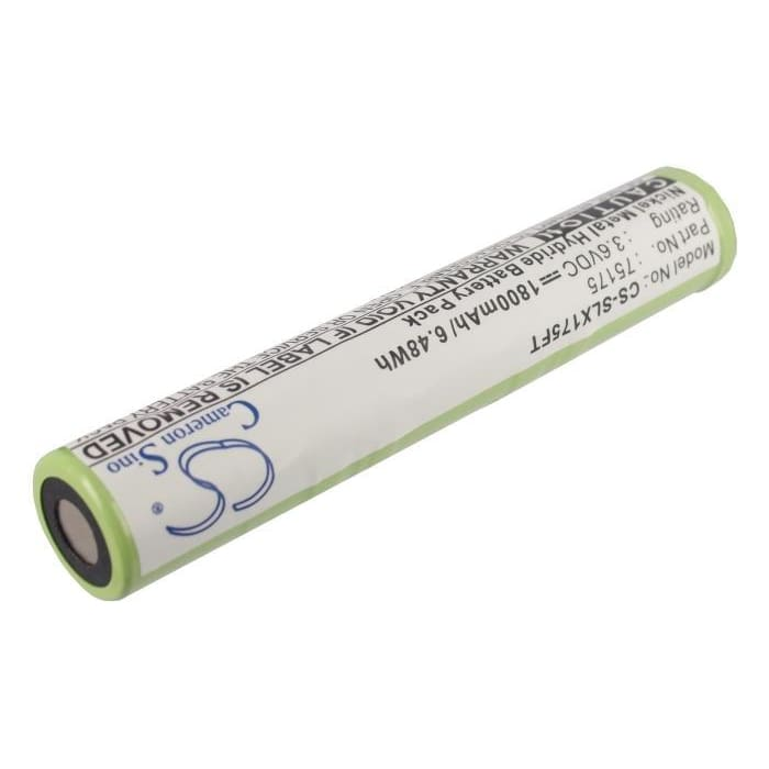 Premium Battery for Streamlight & Pelican M9 3.6V, 1800mAh - 6.48Wh