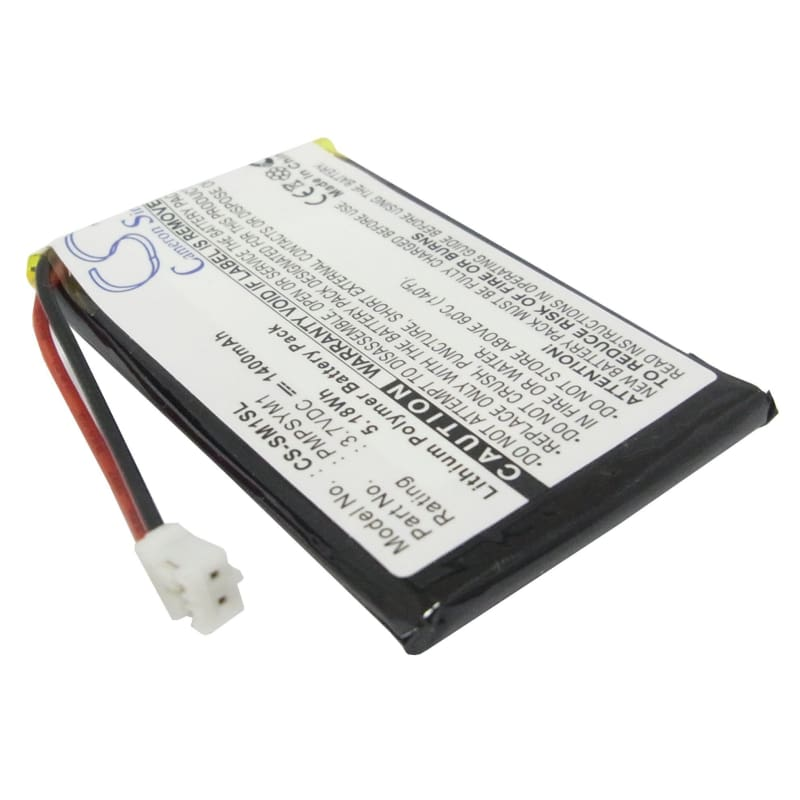Premium Battery for Sony Hdps-m1, M1 Mp3 Player, Hdd Photo Storage 3.7V, 1400mAh - 5.18Wh