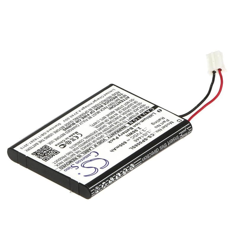 Premium Battery for Sony Cechzk1gb 3.7V, 800mAh - 2.96Wh