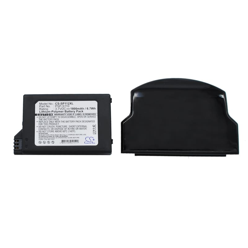 Premium Battery for Sony Psp 2th, Silm, Lite 3.7V, 1800mAh - 6.66Wh