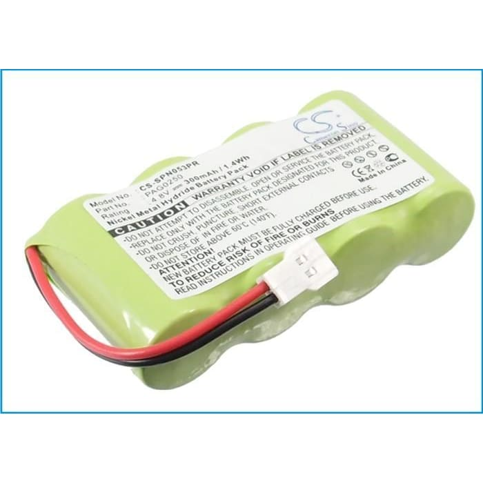 New Premium Pager Battery Replacements CS-SPN053PR